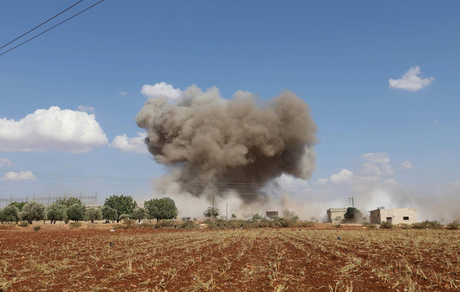 Idlib/ Syrien/ Angriff/ Bergung