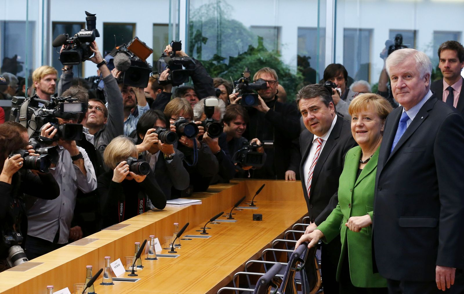 Gabriel Merkel Seehofer