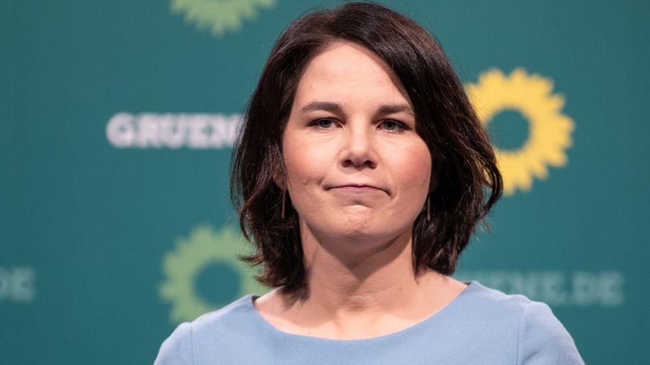 Grüne Kanzlerkandidatin Annalena Baerbock (17. Mai 2021)