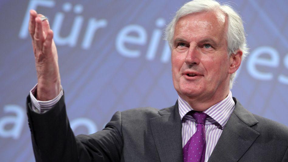 EU-Binnenmarktkommissar Michel Barnier: Weniger Haftung für Steuerzahler
