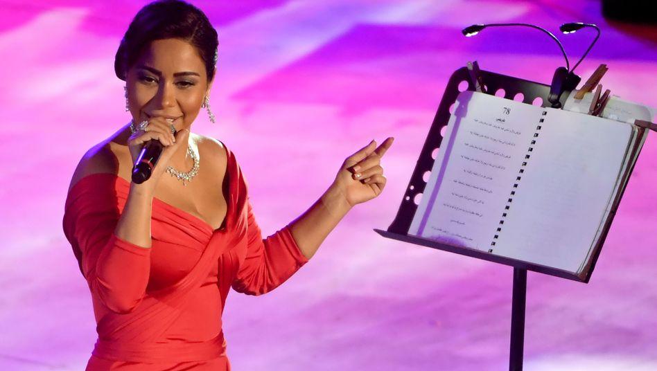 Sängerin Sherine (Archiv)