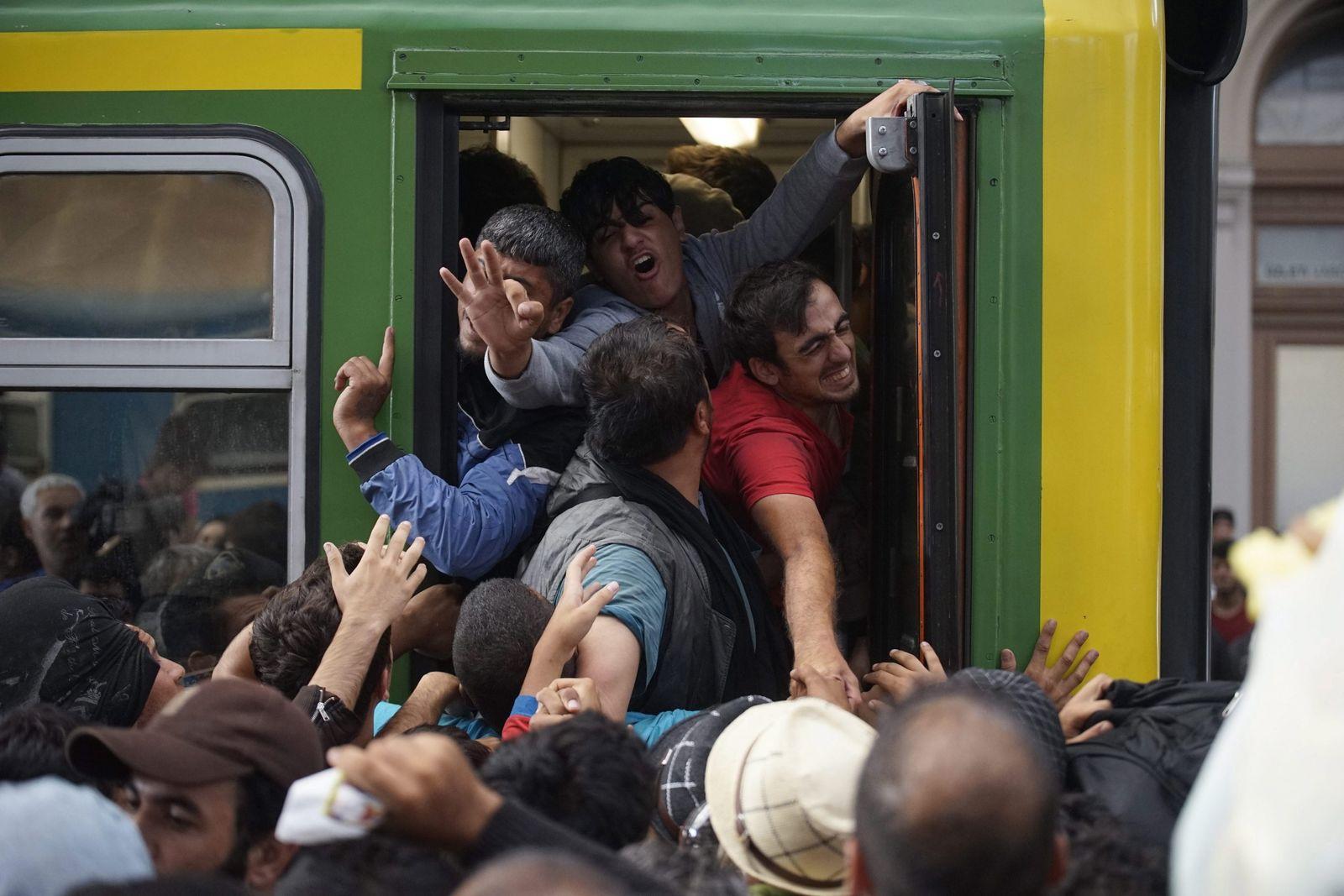Flüchtlinge Ungarn