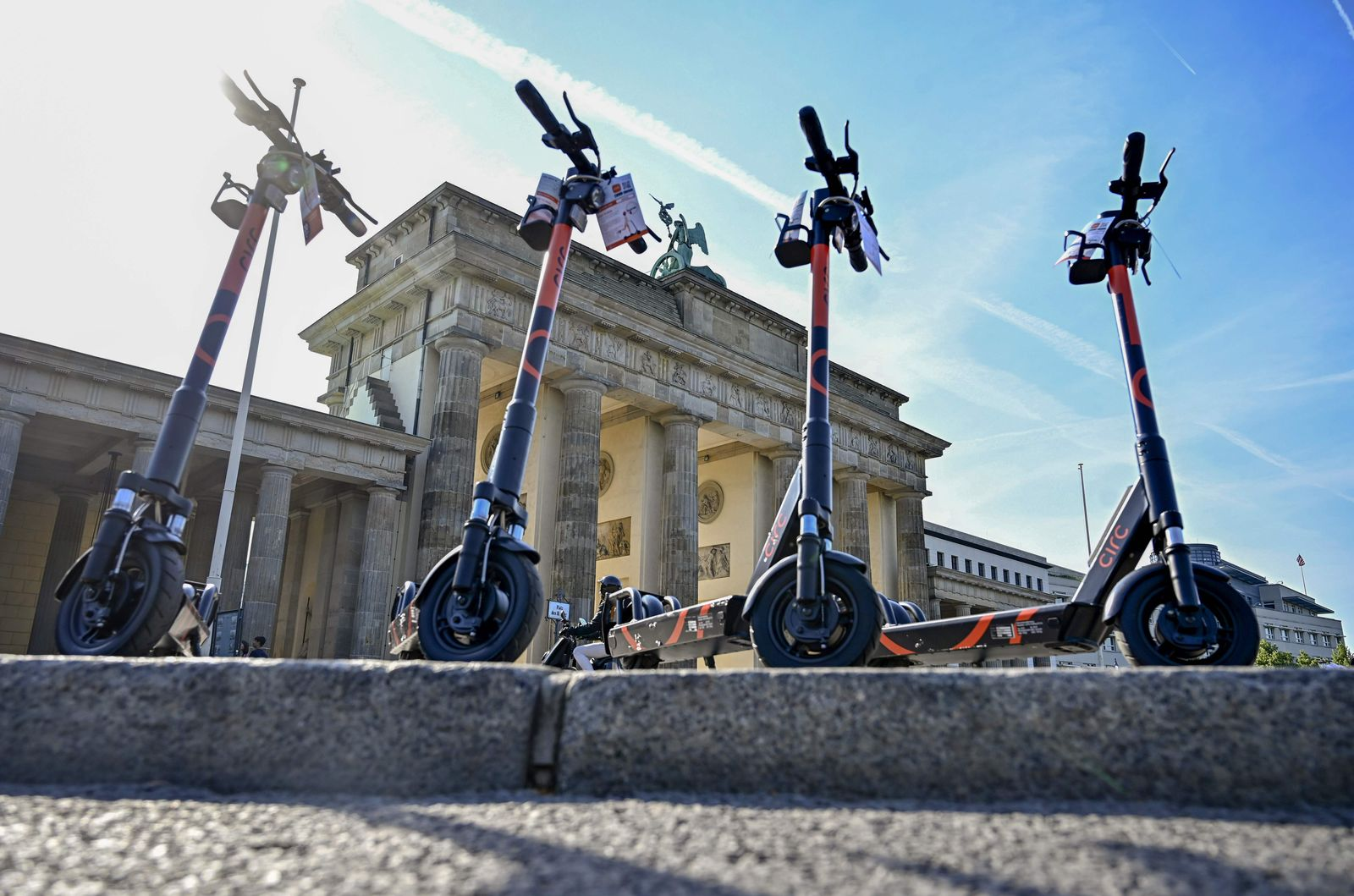 GERMANY-TRANSPORT-SCOOTERS