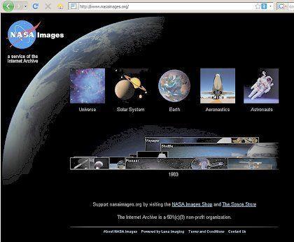 Nasa Images: Umfangreiche, stetig wachsende Bildersammlung der Weltraumbehörde