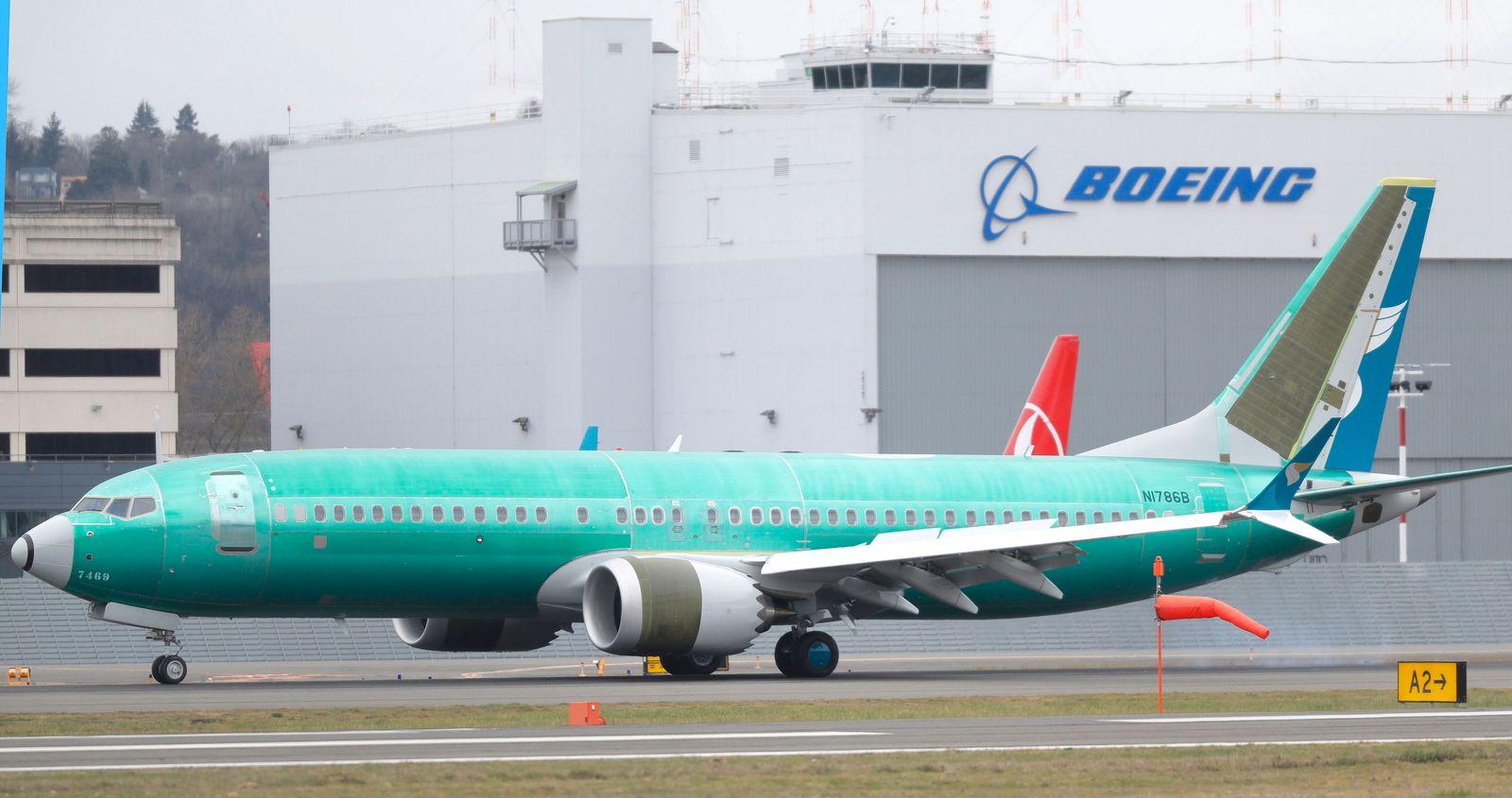 British-Airways-Mutter plant Großauftrag für Boeings Krisenjet