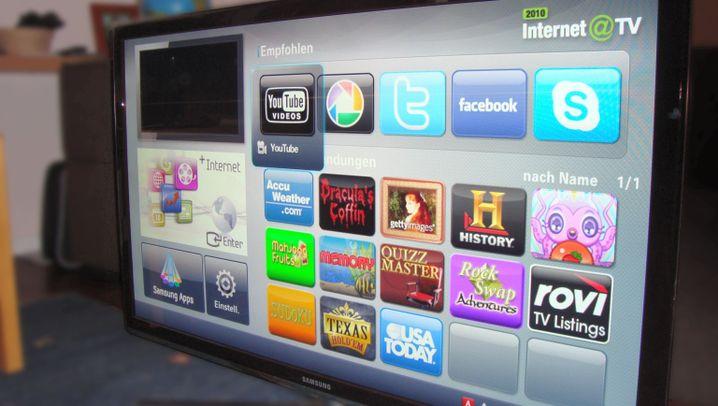 Angefasst: Samsungs superflacher 3-D-Fernseher
