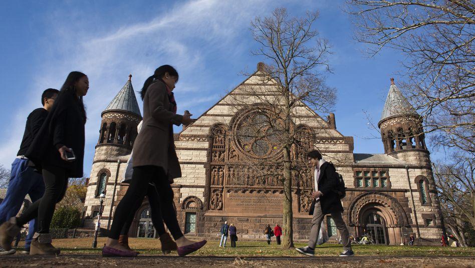 Campus der Princeton University: Dem Untergang geweiht wie Facebook?