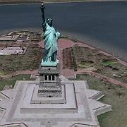 Öffentliches Gebäude im Hafen von New York: Sollte aus Maps und Satellitenbilddiensten im Web verschwinden, meint Joel Anderson