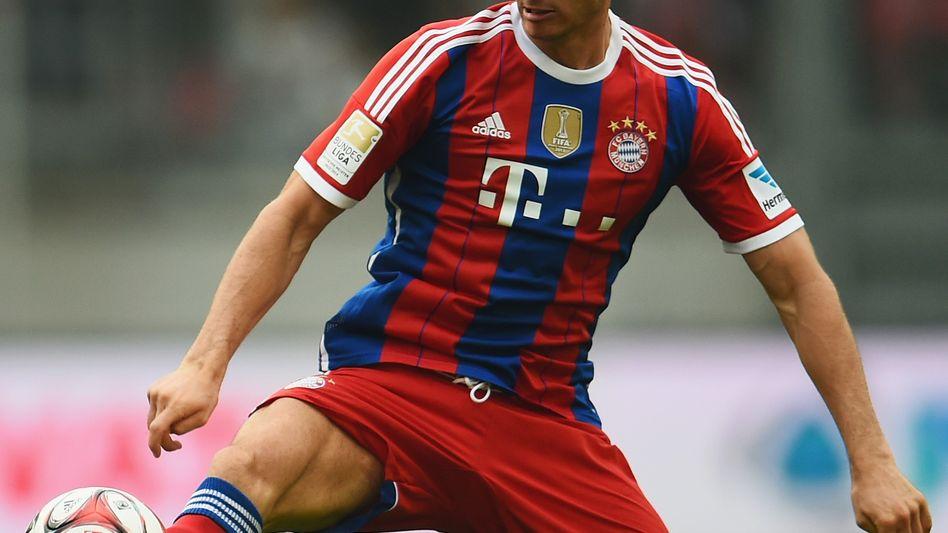 Bayern-Stürmer Lewandowski: Rekord bei TV-Einnahmen