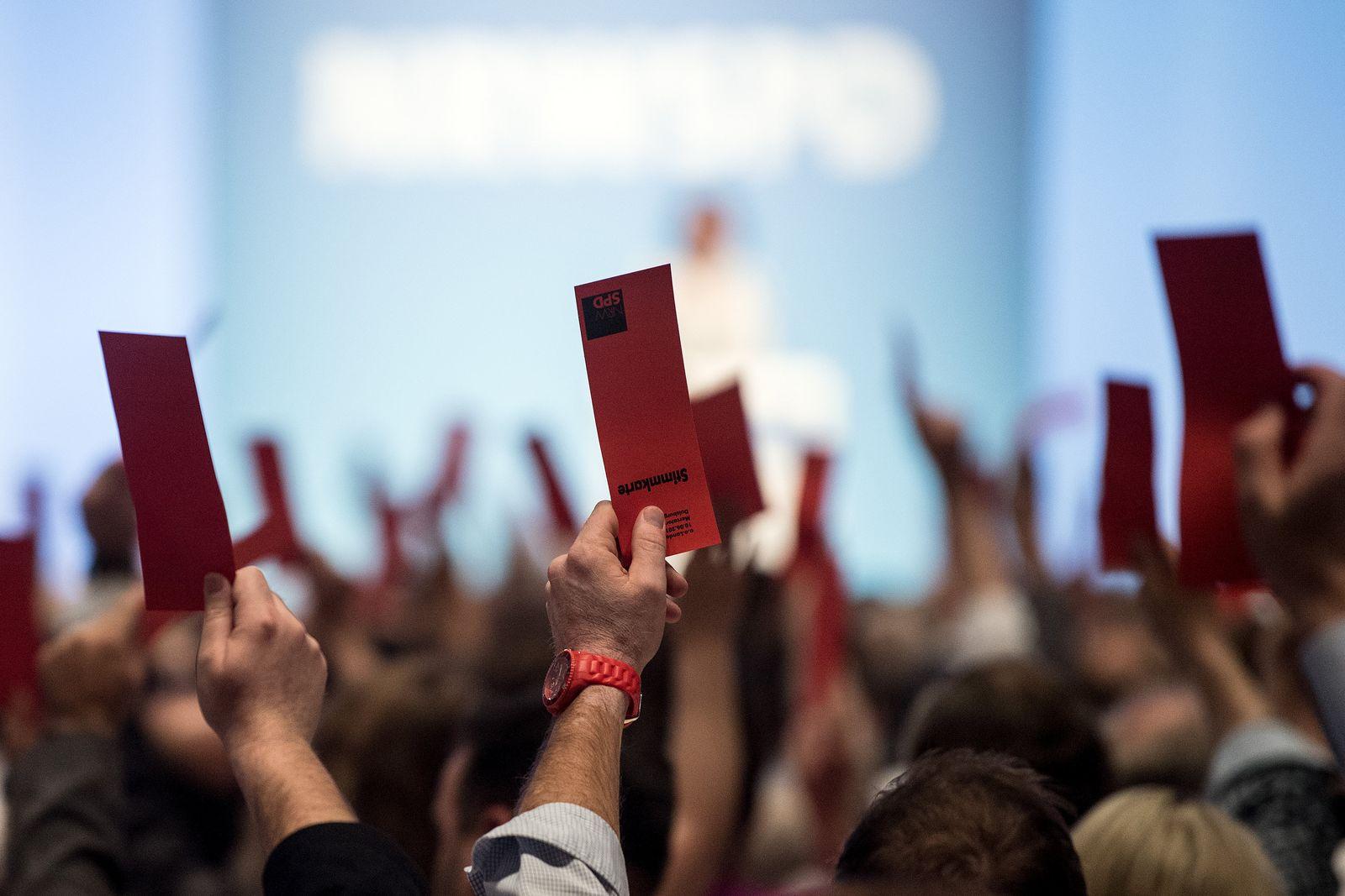 Außerordentlicher Landesparteitag der NRW-SPD
