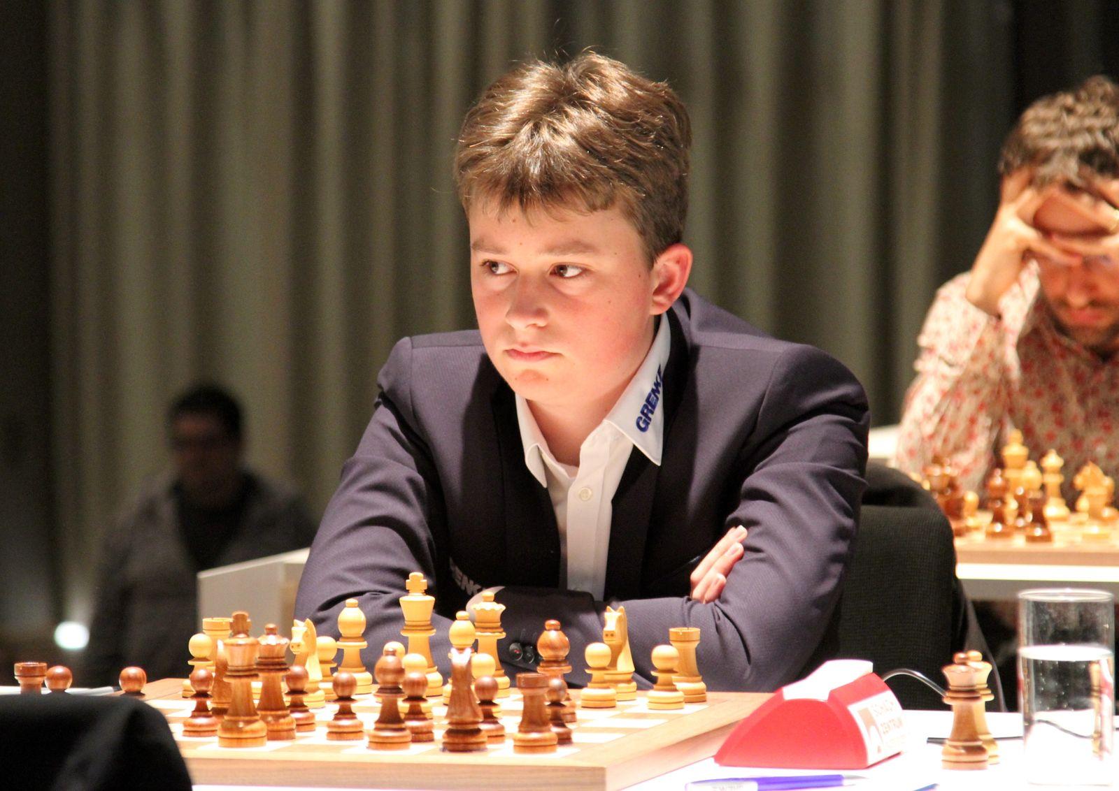 Schach - Vincent Keymer