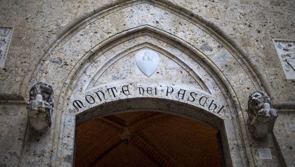 Zentrale von Monte dei Paschi (Archivbild)