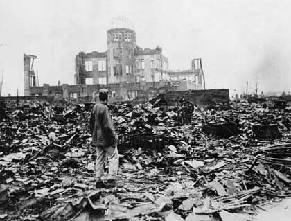 """Zerstörtes Hiroshima: """"Großartiges Flächenziel"""""""