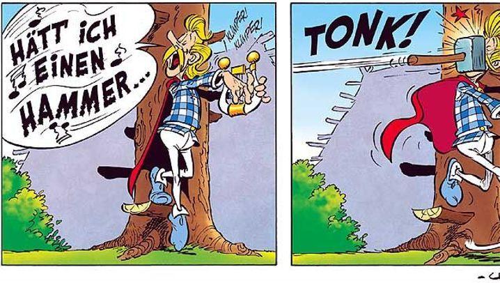 Asterix, Band 33: Die spinnen, die Gallier