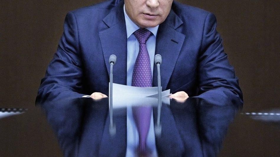 Präsident Putin: Alle Optionen offen