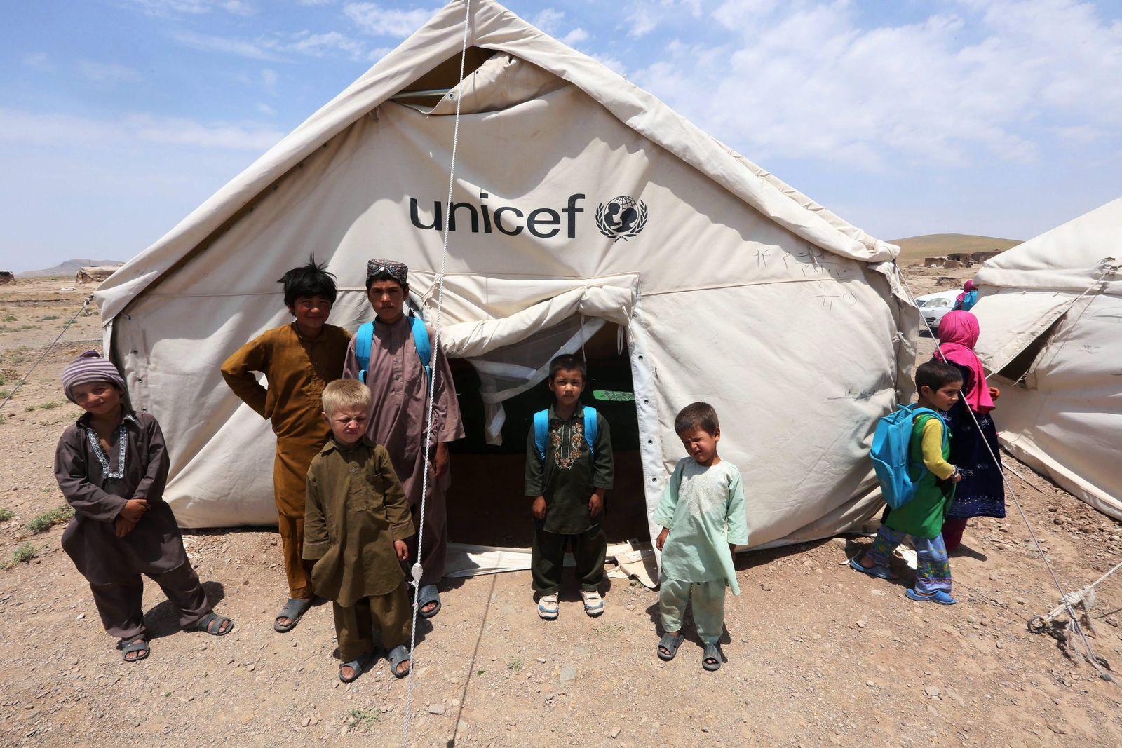 Spenden Organisationen / Unicef