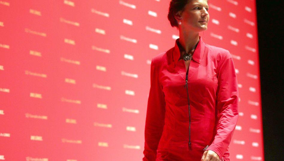 """Wagenknecht auf dem Bielefelder Parteitag: """"Sie wäre ein Risiko, aber auch eine Chance"""""""
