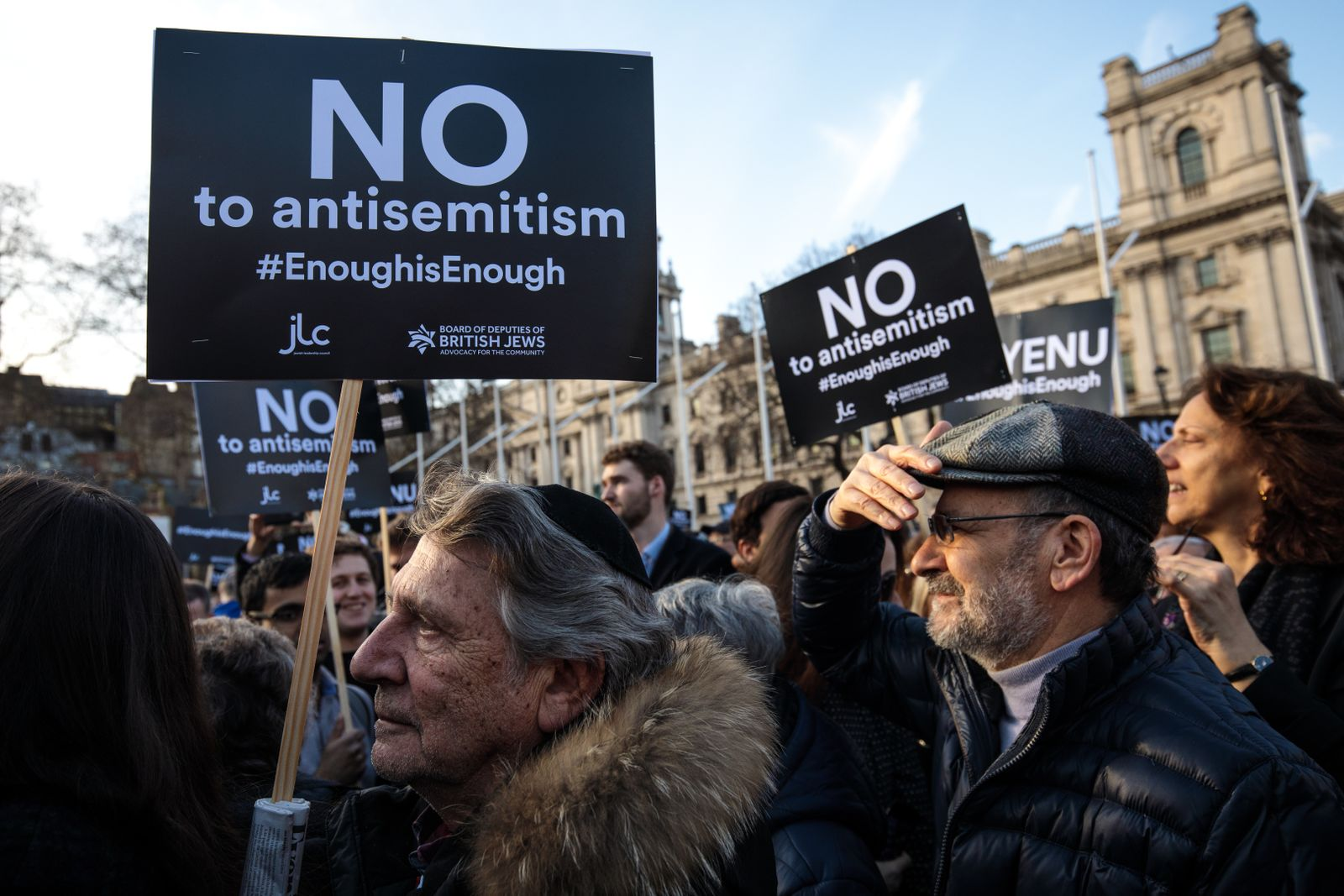 Anti-Antisemitismus_demo / London