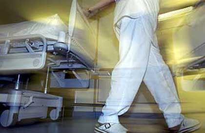 Eine Krankenschwester im Dienst: Nettolohn in Finnland liegt bei 1400 Euro