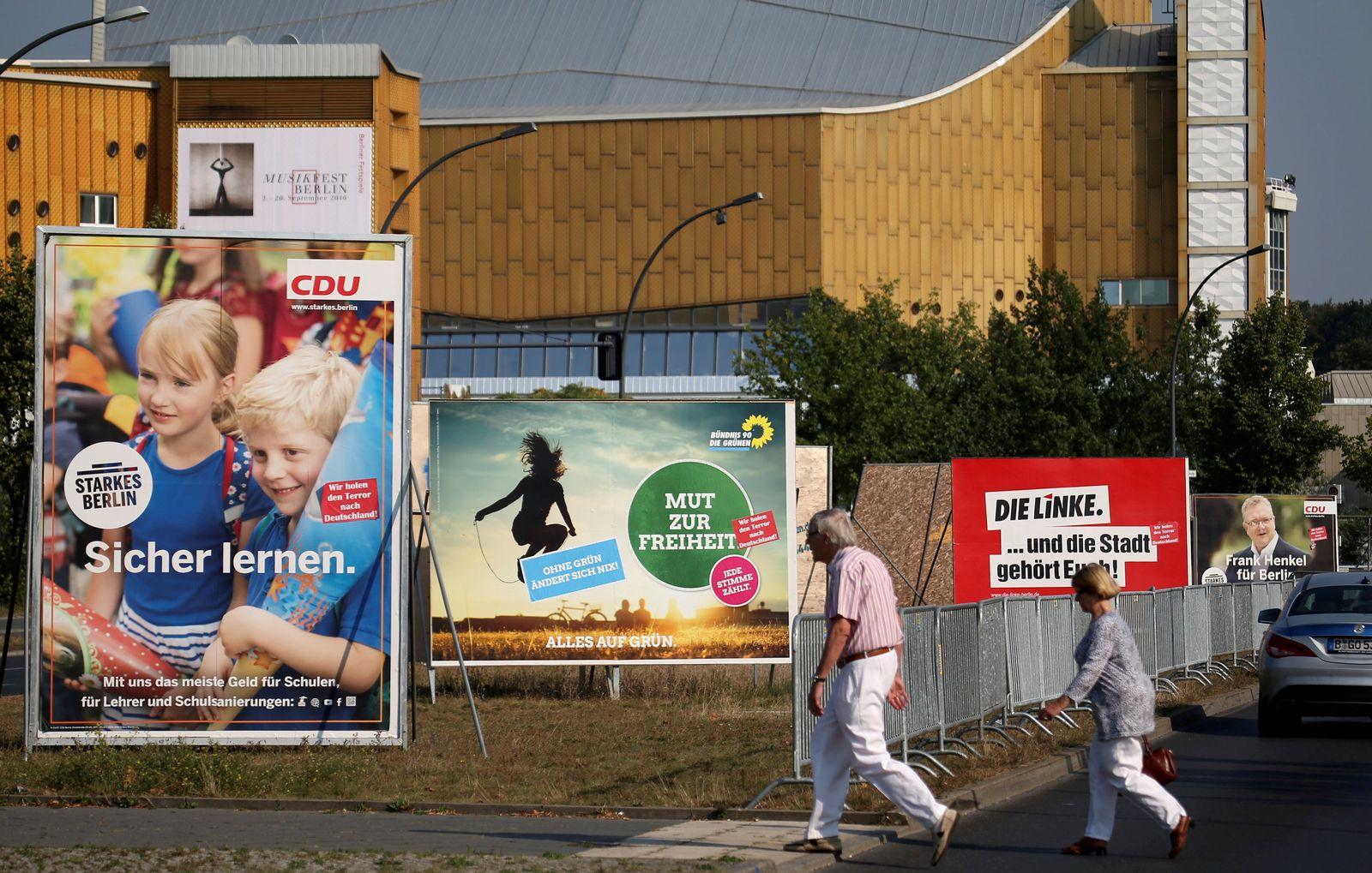 Berlin / Wahlen / Landtag