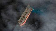 Teil des havarierten Frachters wird vor Mauritius versenkt