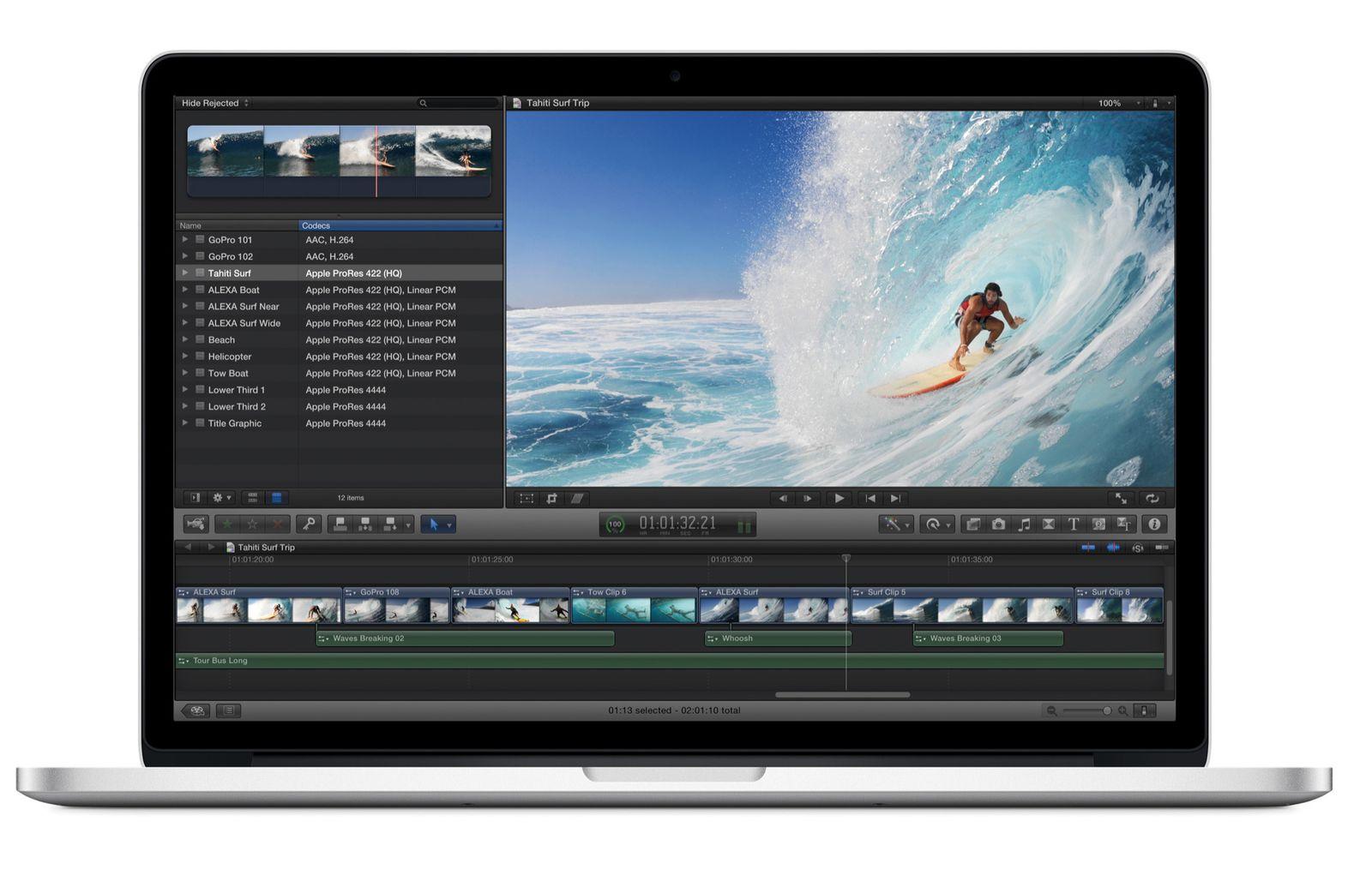 EINMALIGE VERWENDUNG MacBook Pro 2012