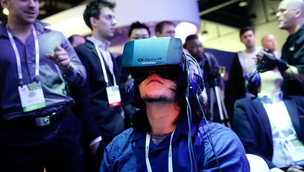 Oculus Rift: Blick ins Virtuelle