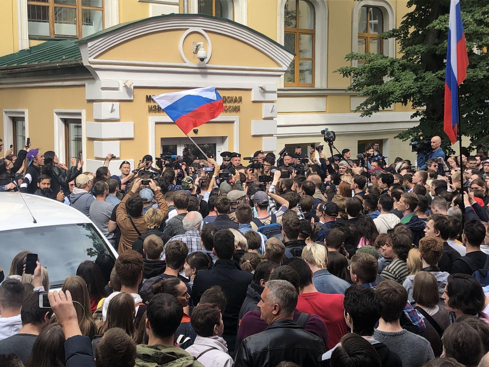 Russland / Wahlen / September 2019 / Moskau