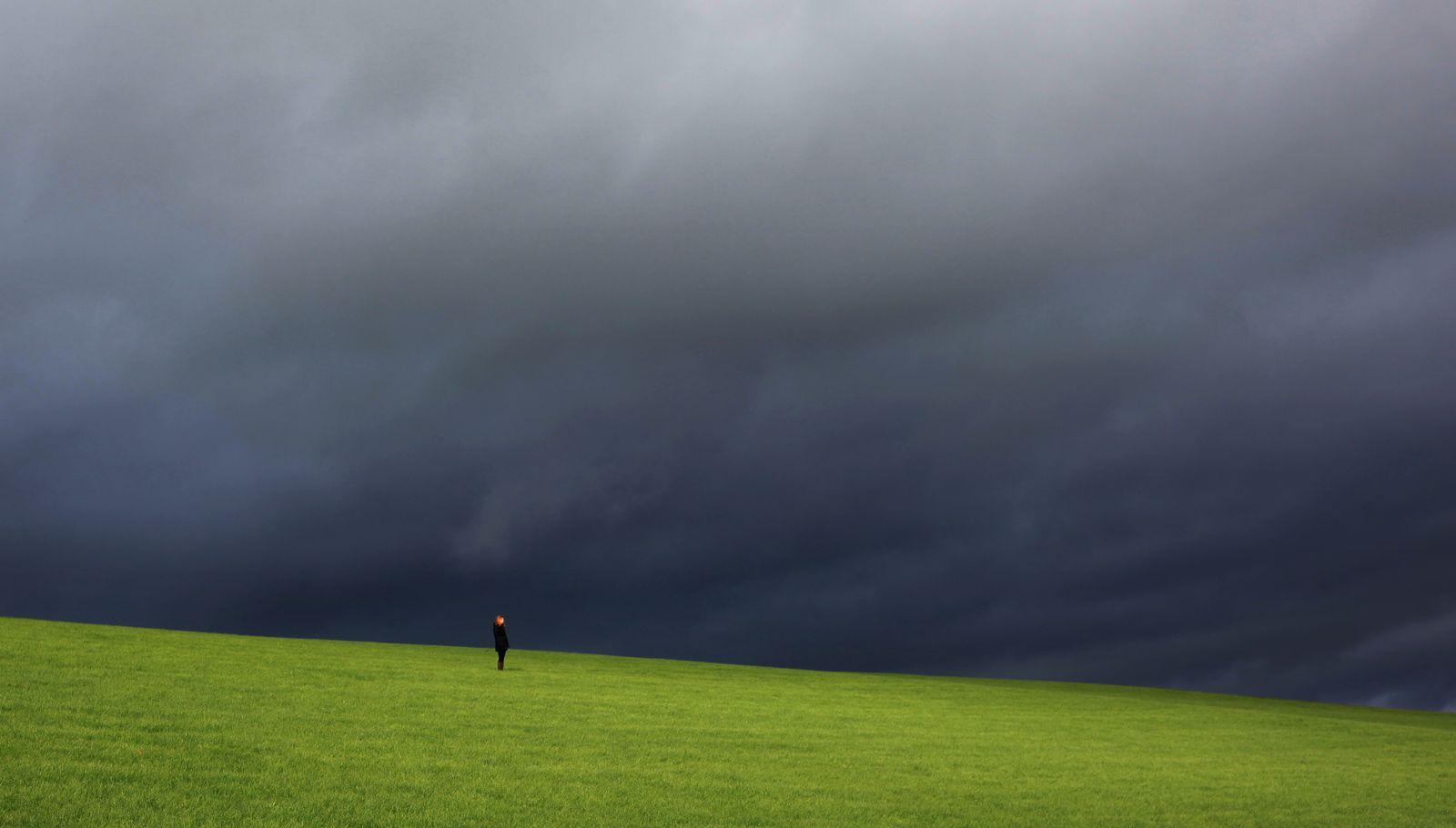 Herbst im Sauerland / Herbstwetter/ Herbstdepression