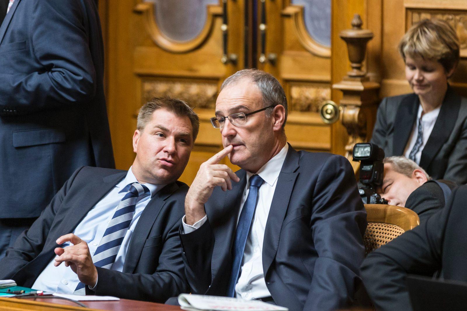 SVP / Toni Brunner / Guy Parmelin