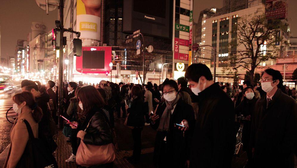 Tokio in der Katastrophe: Metropole in Schockstarre