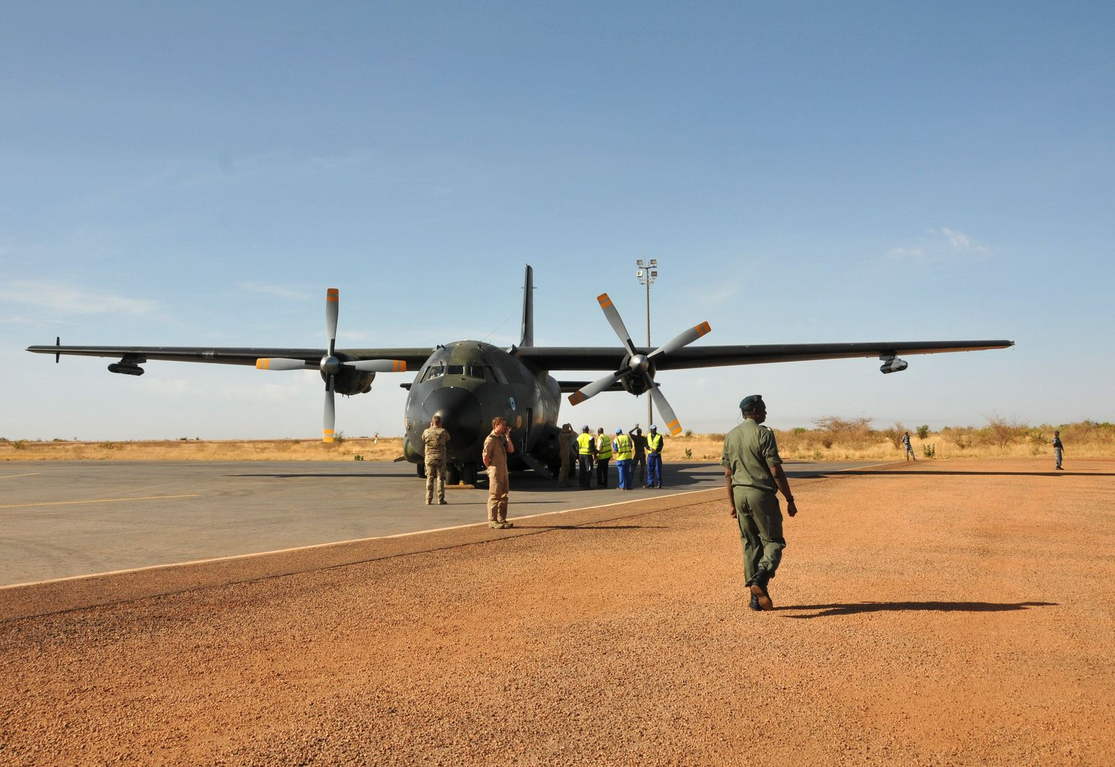 Trans All der Bundeswehr / Mali