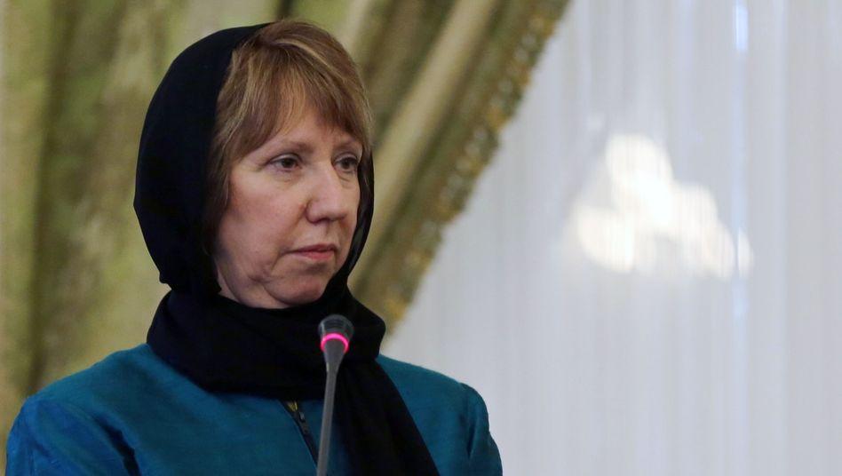Ashton in Teheran: Scharfe Kritik vom iranischen Außenministerium