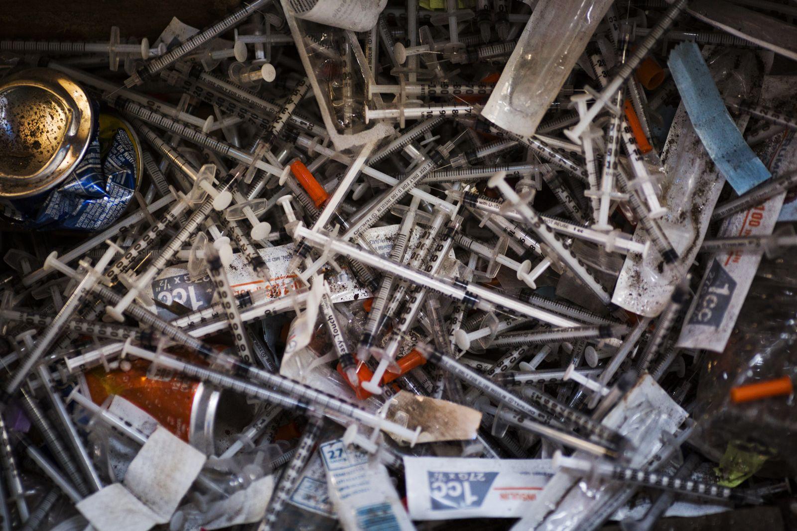 USA/ Drogen/ Heroin-Markt