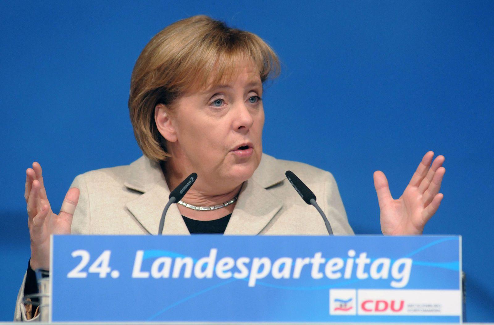 DEU MV CDU Merkel
