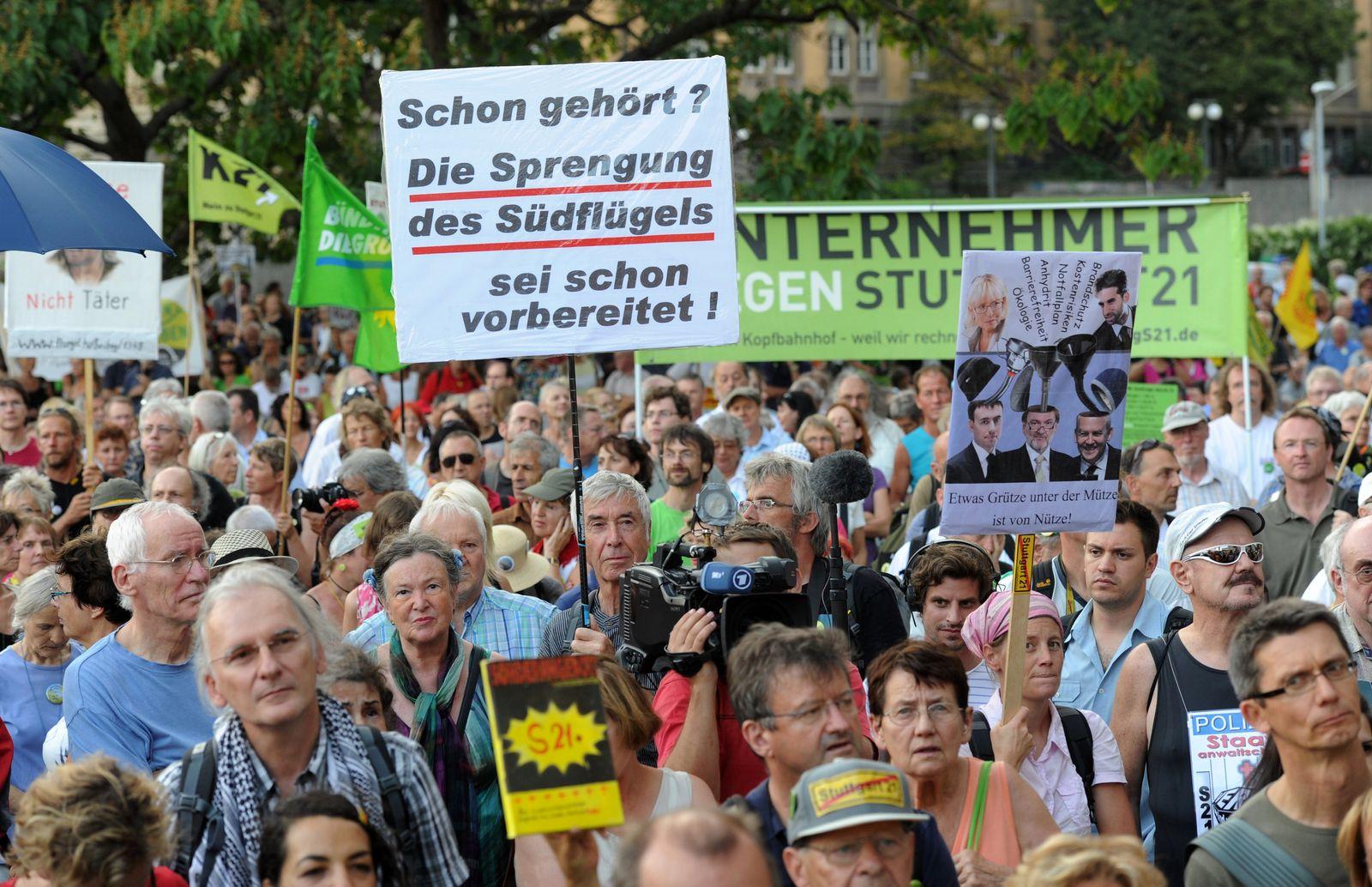 Demo / Stuttgart 21