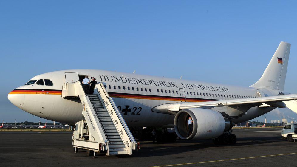 """Airbus """"Theodor Heuss"""": Kanzler-Jet für Ahmadinedschad"""
