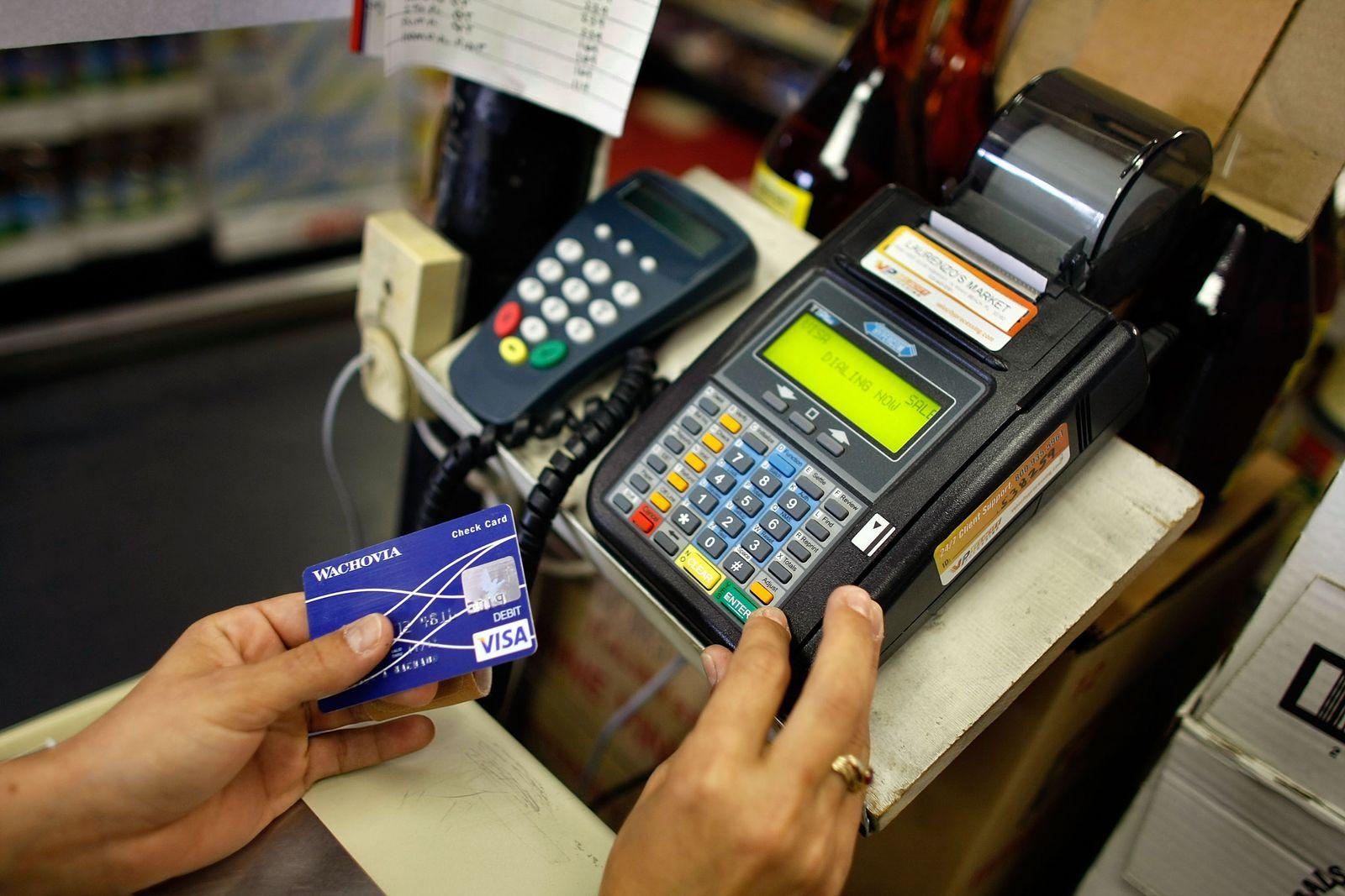 Kreditkartenzahlung/ Kartenzahlung/ USA