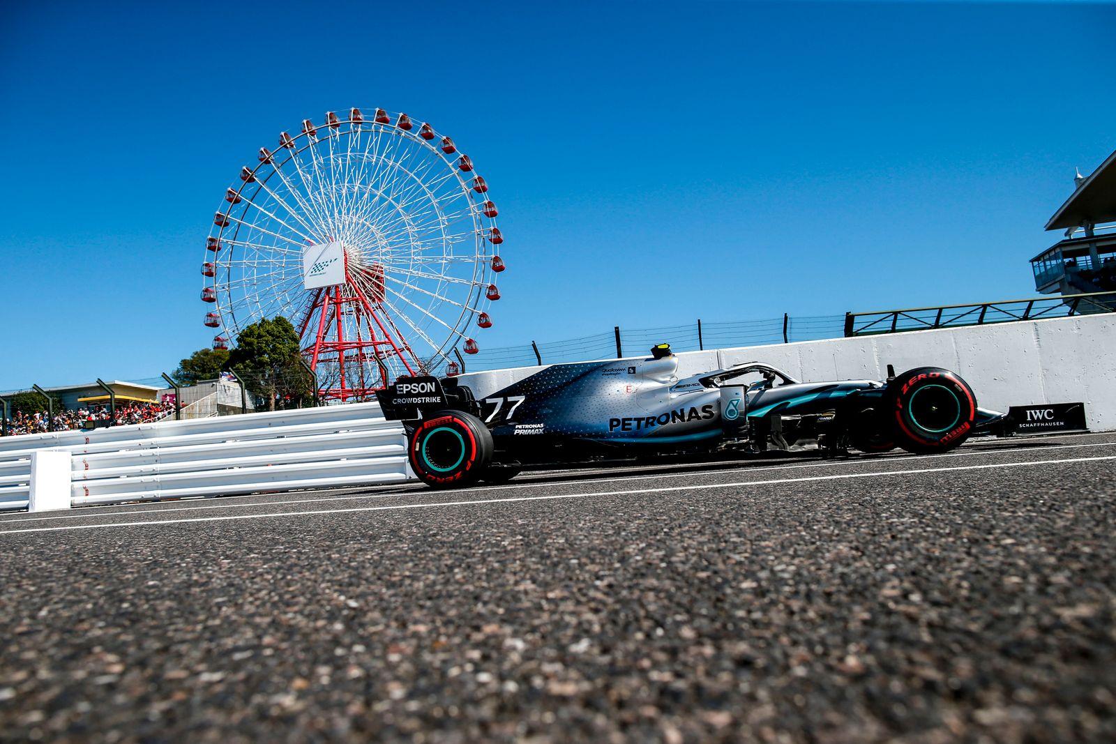 Motorsports: FIA Formula One World Championship, WM, Weltmeisterschaft 2019, Grand Prix of Japan, 77 Valtteri Bottas (F