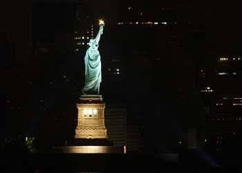 Auch in New York saßen tausende Fluggäste fest
