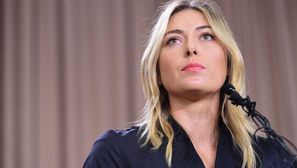 Tennis: Scharapowa positiv auf Doping getestet