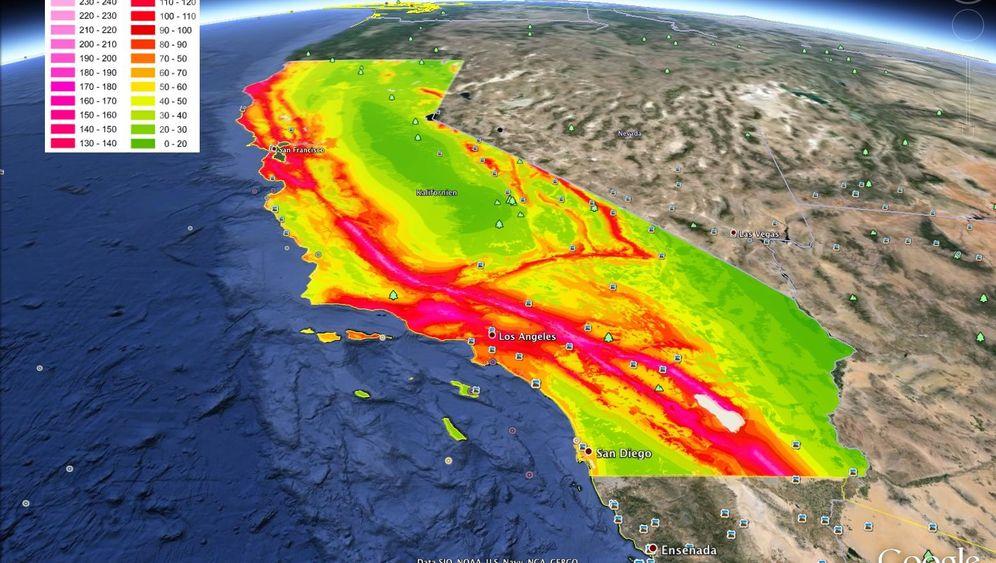 """Erdbeben: Kalifornien fürchtet """"The Big One"""""""