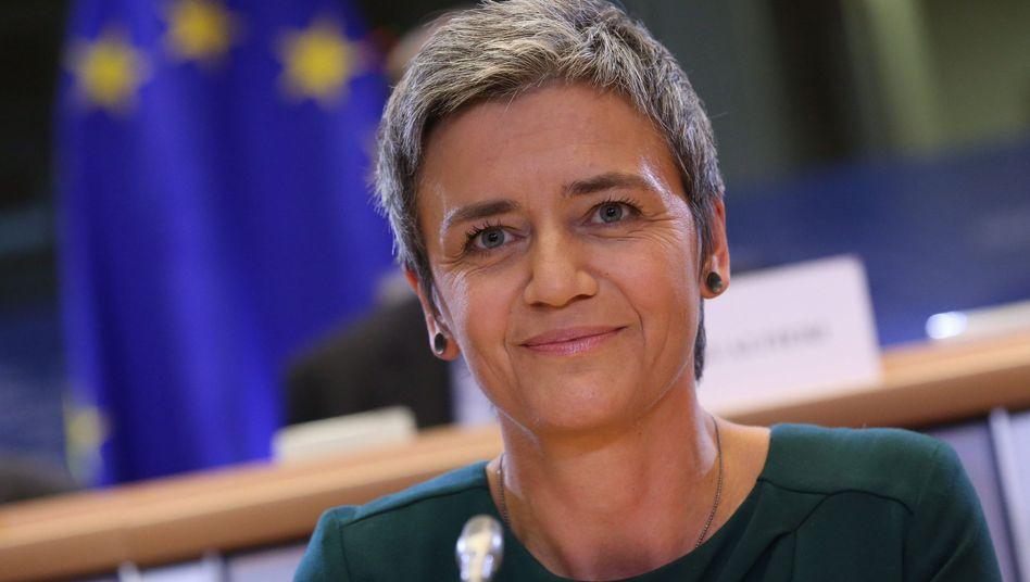 EU-Wettbewerbskommissarin Margrethe Vestager: Neuer Anlauf gegen Google