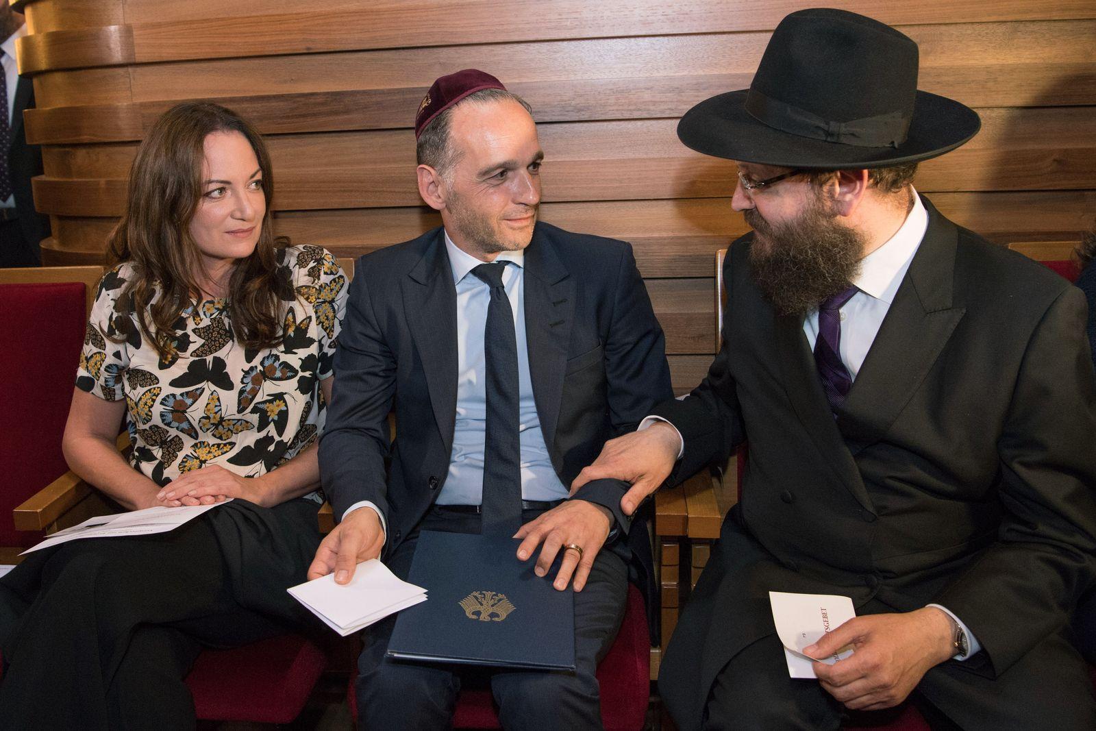 Solidaritätsgebet nach antisemitischem Vorfall gegen Rabbiner