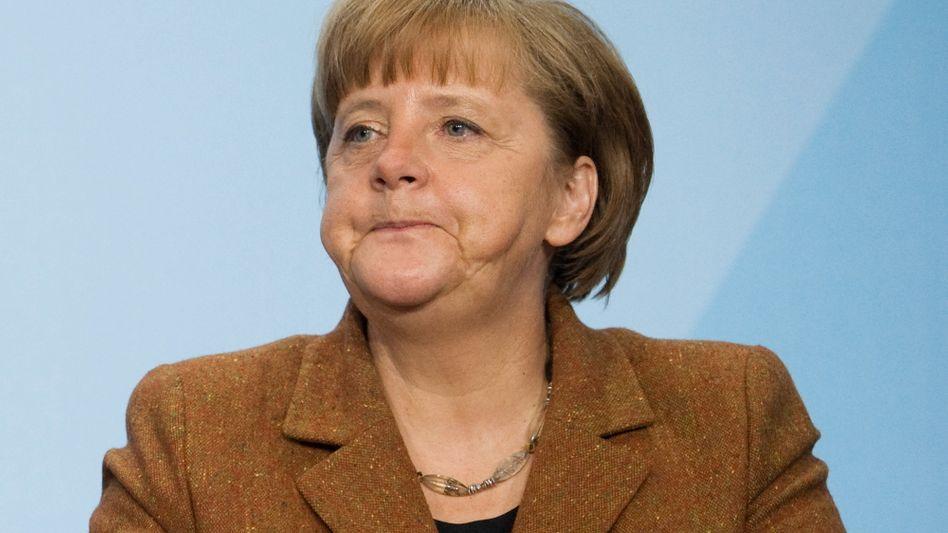 """Kanzlerin Merkel (Archivbild): """"Dringend Zeit für nächste Uno-Resolution"""""""