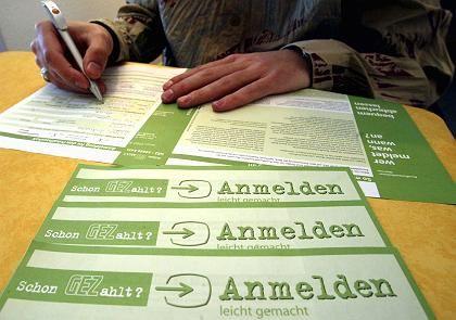 Gebührenformular für ARD und ZDF: Finanzierung nicht mehr im Einklang mit EU-Recht