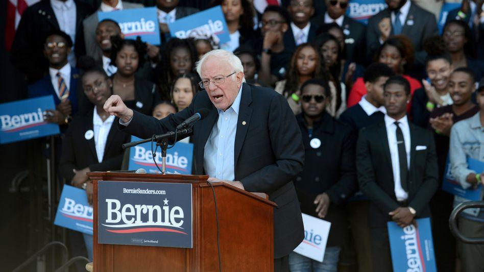 """Bernie Sanders: """"Multi-Milliardäre wie Michael Bloomberg werden bei dieser Wahl nicht sehr weit kommen"""""""