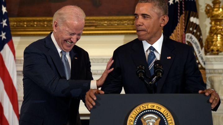 Freiheitsmedaille: Joe Biden zu Tränen gerührt