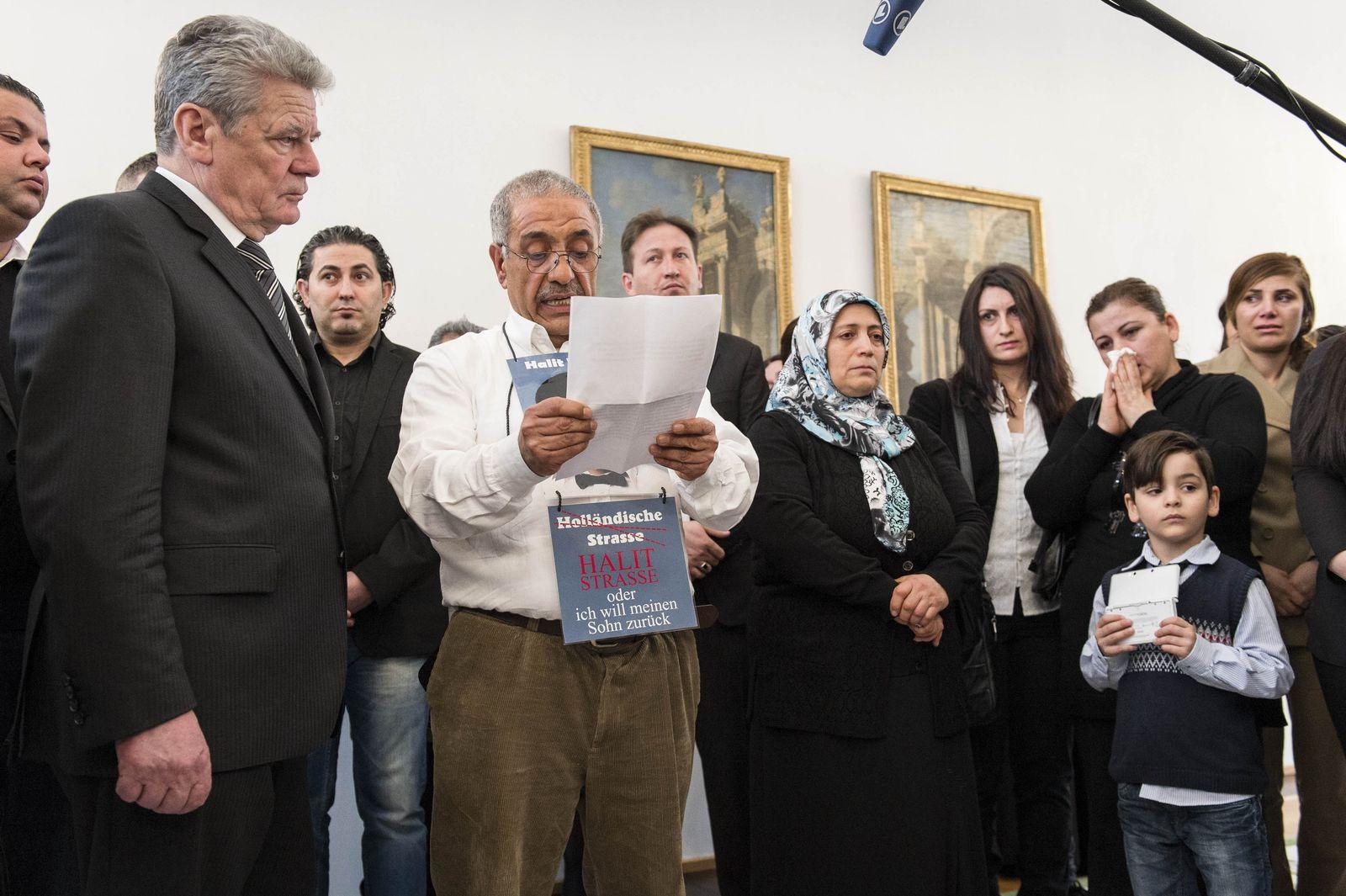 Gauck/ NSU-Opfer/ Angehörige
