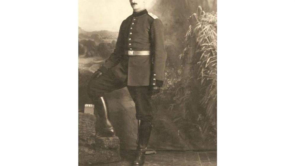 """Private Bilder aus dem Ersten Weltkrieg: """"Oh, welche Luhust, Soldat zu sein"""""""